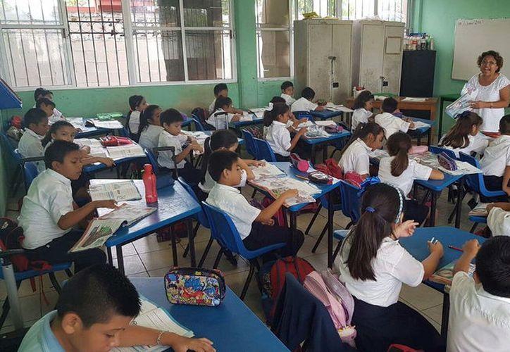 Alrededor de 833 escuelas utilizan el calendario de 195 días. (Milenio Novedades)