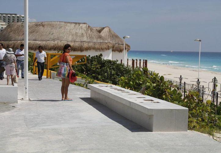 El Parador Fotográfico se ubica en Playa Delfines. (Sergio Orozco/SIPSE)
