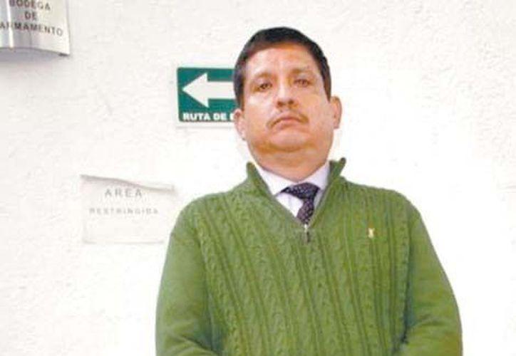 Jaime René Jiménez Flores, ex funcionario de la Secretaría de Hacienda. (Milenio)