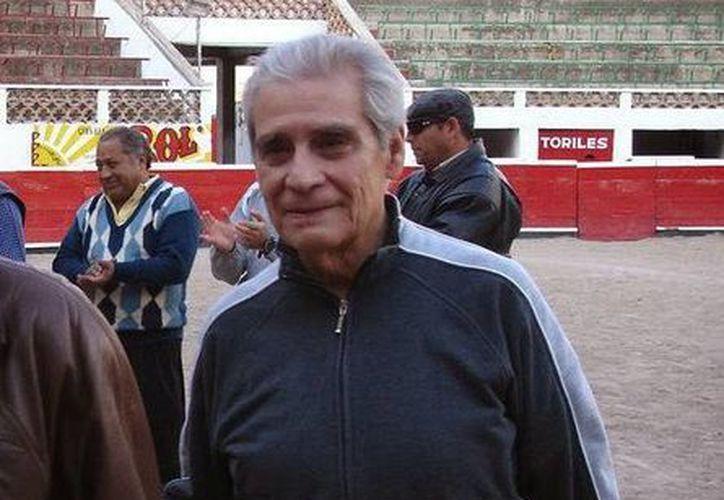"""El matador en retiro mexicano, Jesús """"Chucho"""" Córdoba, falleció este martes a los 89 años de edad a consecuencia de una enfermedad respiratoria. (Imagen tomada de gestauro.blogspot.mx)"""