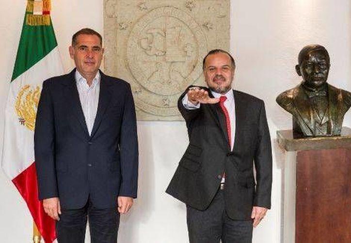 Germán Cervantes Ayala sustituirá a Moisés Robles al frente del Ieepo. (Milenio)