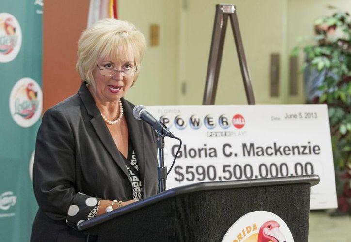 Cynthia F. O'Connel, secretaria de la lotería de Florida. (Archivo/EFE)