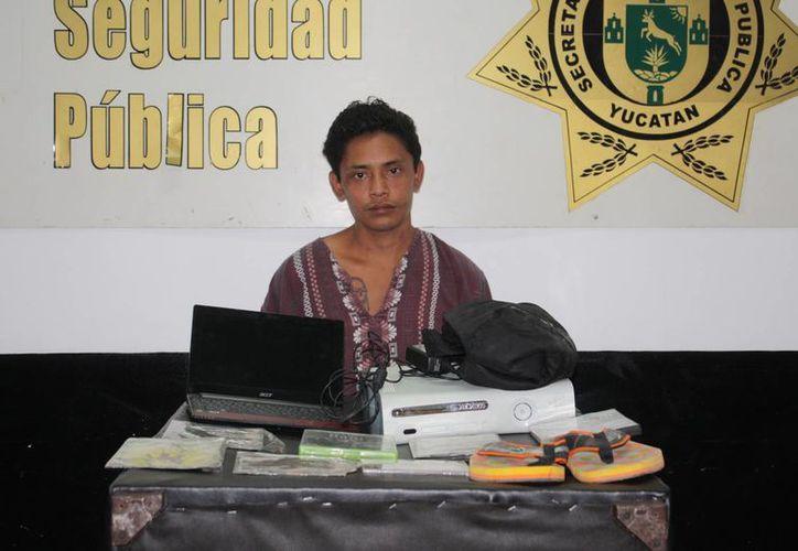 """El ratero conocido como """"Cuco"""" tiene su hogar en la colonia Benito Juárez Oriente. (SIPSE)"""