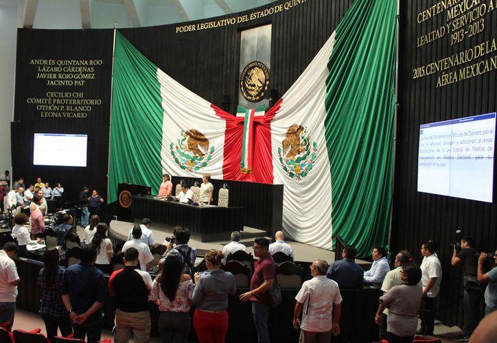 En julio, fue aprobada la eliminación de fuero por la Legislatura y ratificada por seis de 11 comunas. (Joel Zamora/SIPSE)