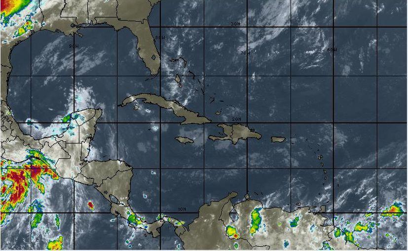 Se esperan rachas mayores de 50 kilómetros por hora en Quintana Roo. (Intellicast)