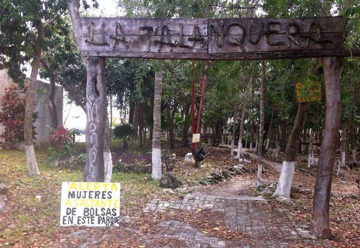 El parque se ubica en el Fraccionamiento Bartolomé. (Sergio Orozco/SIPSE)
