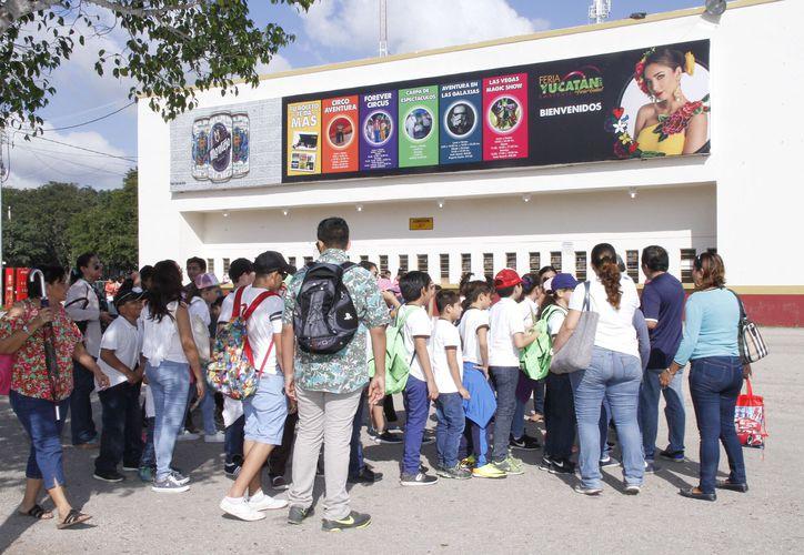 La afluencia de visitantes al recinto ferial fue de aproximadamente 85,000 personas. (Foto: Cortesía)