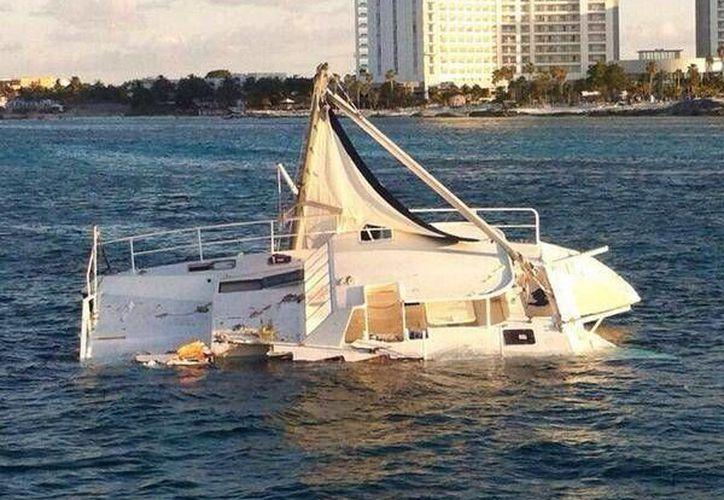 Fueron rescatados más de 30 turistas. (Twitter@waldonews)