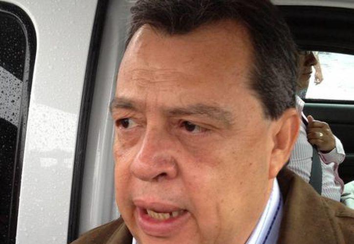 Ángel Aguirre se dijo optimista ante el conflicto magisterial. (Notimex)