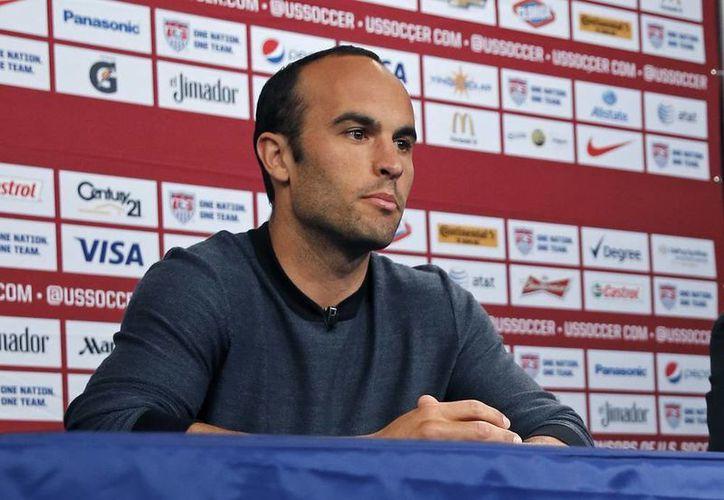 Jason Donovan, de 32 años, delantero del Galaxy de Los Angeles, líder de la selección de EU, se retirará del futbol al final de la temporada de la MLS. (AP)