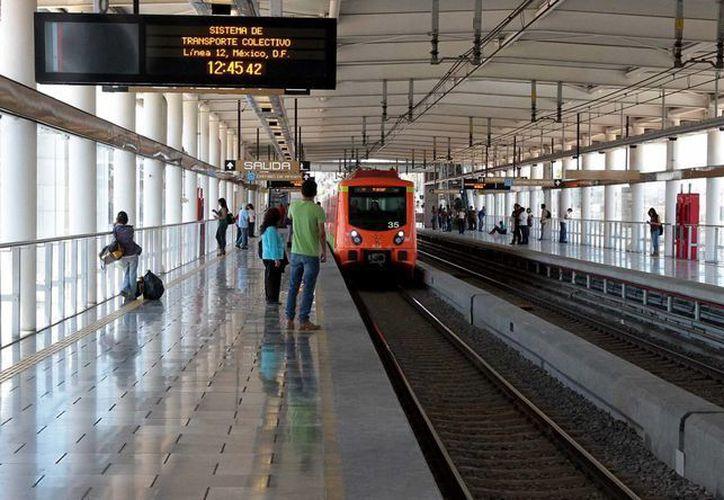 Se estima que el mantenimiento de las vías de la Línea 12 tenga un costo de 176 millones de pesos. (Archivo/Notimex)