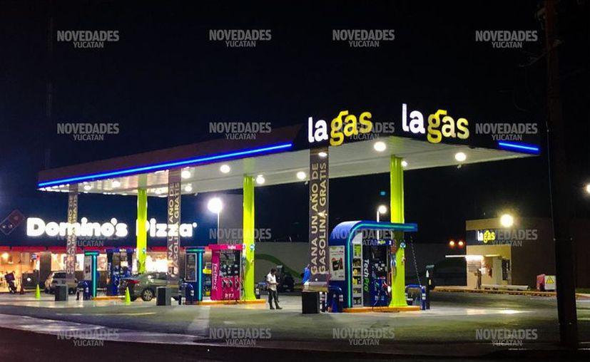 """Las gasolineras de Mérida registran los niveles más bajos a partir del famoso """"gasolinazo"""". (Novedades Yucatán)"""
