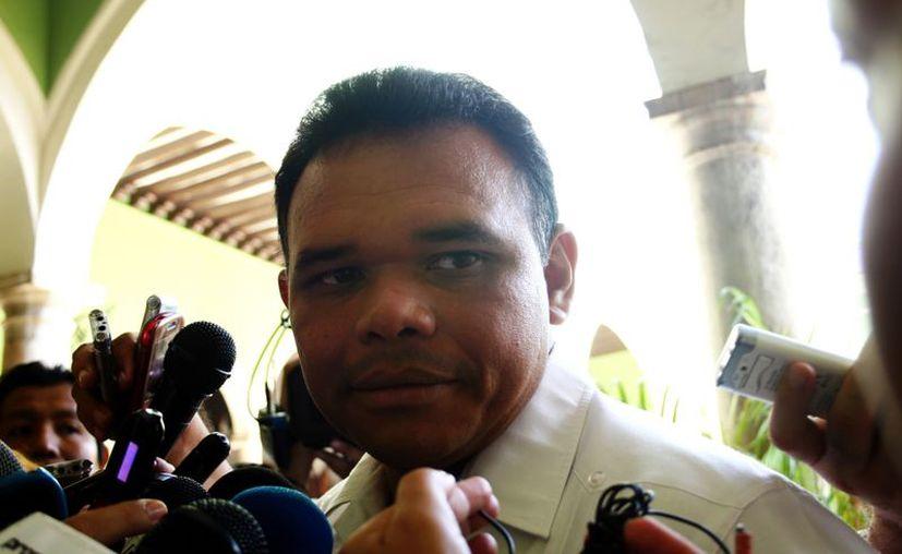 Rolando Zapata Bello hará entrega del paquete presupuestal el próximo 20 de diciembre.(Archivo/SIPSE)