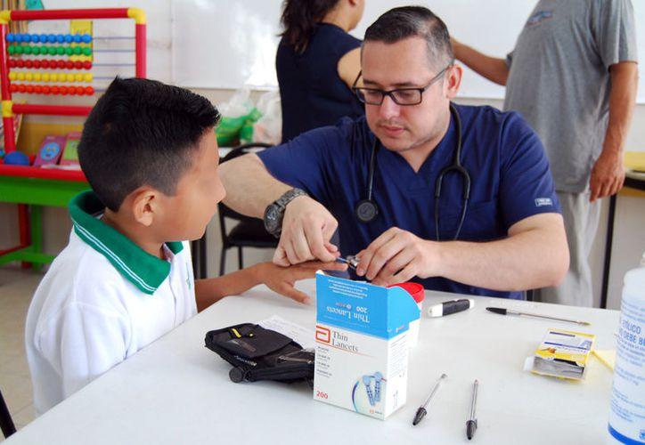 En Progreso, el DIF municipal iniciará una campaña  para detectar diabetes tipo II en niños de escuelas primarias. (Archivo-Gerardo Keb/SIPSE)