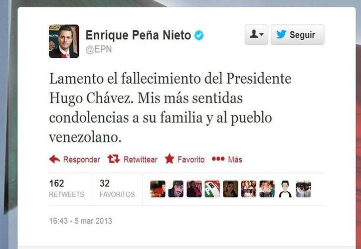 La noticia tuvo un alto impacto en las redes sociales. (@EPN/Twitter.com)