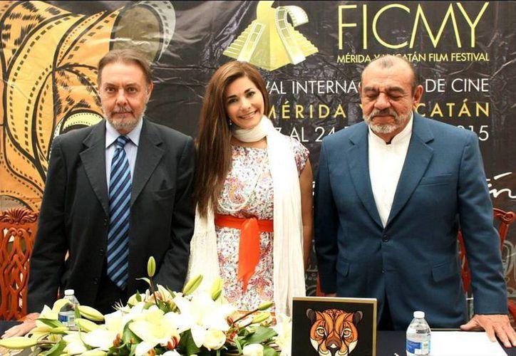 Autoridades de cultura presentaron el Festival Internacional de Cine de Mérida y Yucatán en la Ciudad de México. (Milenio Novedades)