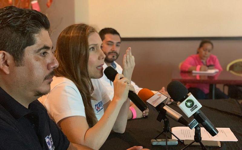 Atenea Gómez Ricalde destacó que representa una fórmula con juventud y experiencia. (Foto: Comunicado de prensa)