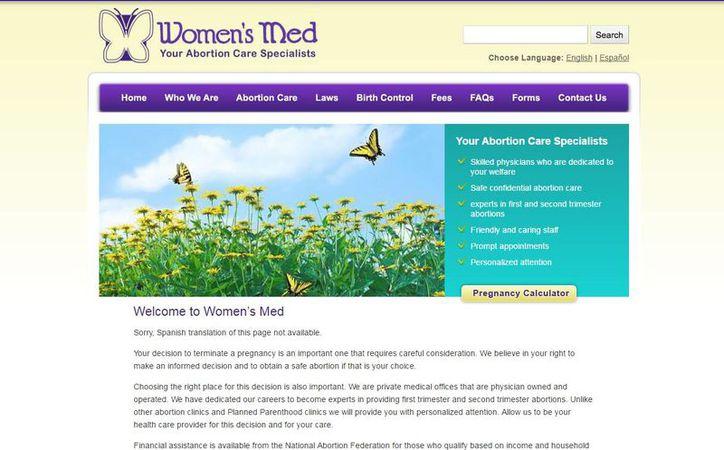 Women's Med Center planea apelar la decisión y tiene 15 días para hacerlo. (womensmed.com)