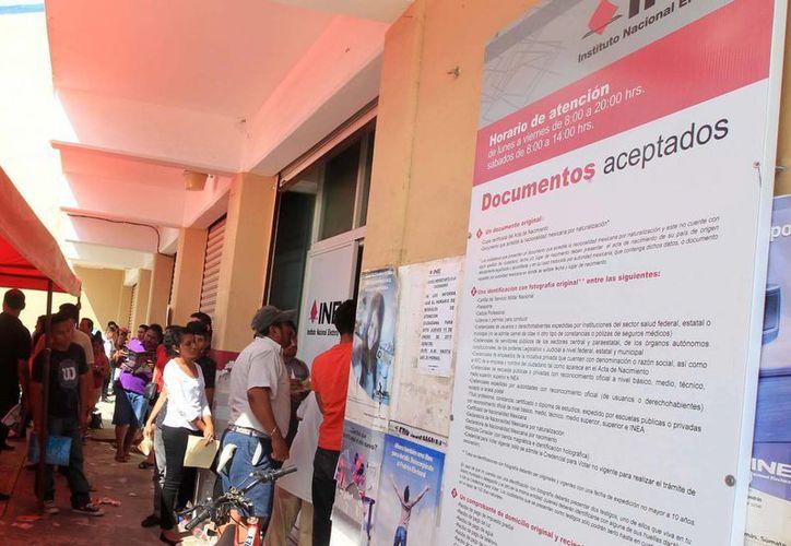 El INE de Quintana Roo iniciará con los trabajos de renovación en abril. (Karim Moisés/SIPSE)