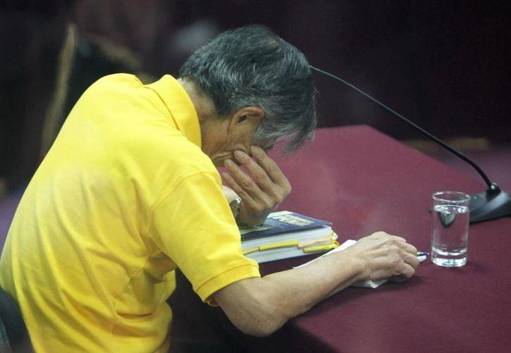 Alberto Fujimori purga una sentencia de 25 años por violaciones a los derechos humanos. (EFE)