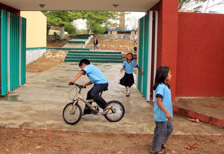 La próxima semana los alumnos sólo tendrán cuatro días de clase. (José Acosta)