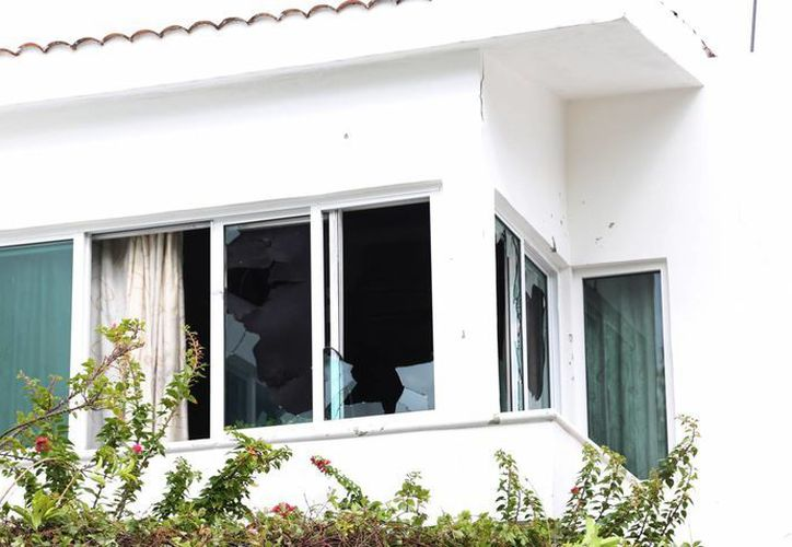 El incendio se registró en el hotel Villas Solé. (Luis Soto/SIPSE)