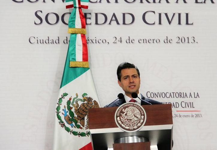 El intercambio comercial entre los países de América es apenas del 28%: Peña Nieto. (Notimex)