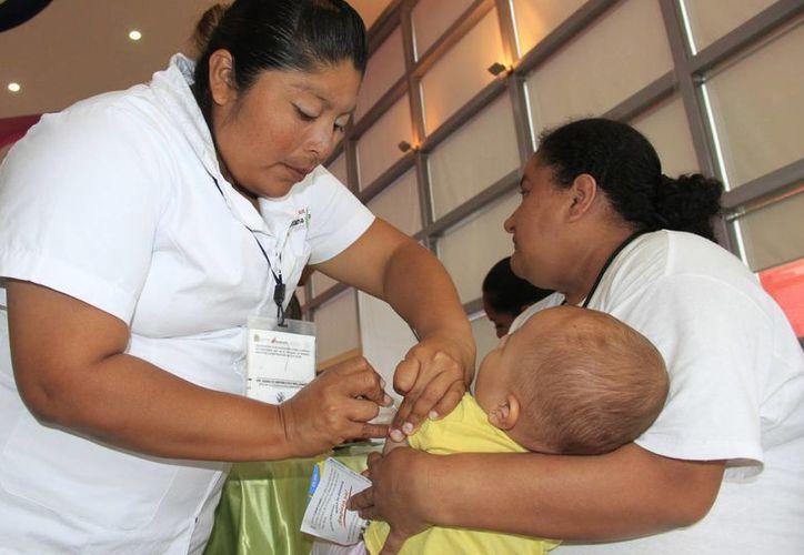 La Segunda Semana Nacional de Vacunación se realizará a finales de este mes. (Luis Soto/SIPSE)