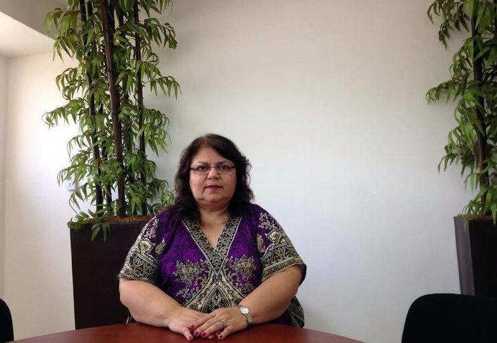 María Elena Achach Asaf dijo que seguirá realizando, como hasta ahora, las actividades del organismo electoral hasta que elijan a los nuevos consejeros. (Milenio Novedades)