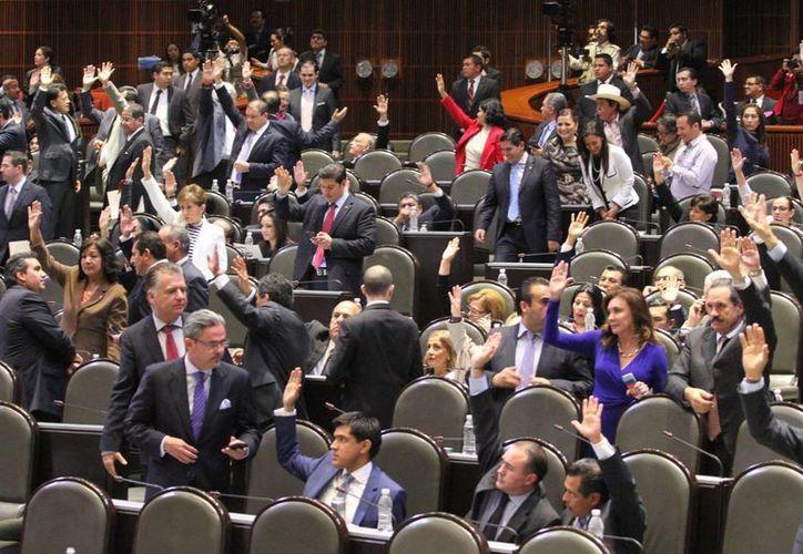 A partir de este lunes, las leyes energéticas serán sometidas al pleno de la Cámara de Diputados. (Archivo/Notimex)