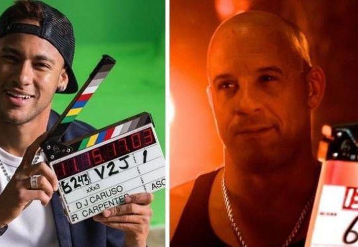 El futbolista Neymar se estrena como actor al lado de Vin Diesel y Samuel L. Jackson en una pelícua de acción. (Twitter)