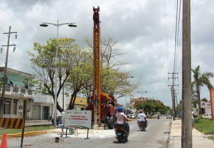 Las pasadas lluvias ayudaron a las autoridades municipales a detectar las zonas vulnerables a inundaciones. (Gustavo Villegas/SIPSE)