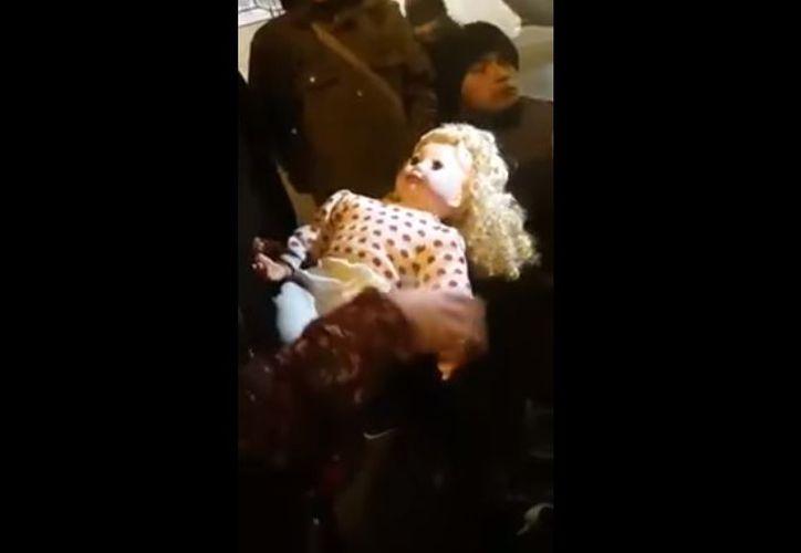 El escalofriante video se hizo viral en unos días. (Captura de pantalla/ Youtube)