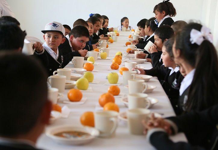 Destacó que el programa de Desayunos Escolares Fríos contribuye a mejorar el estado nutricional de la población infantil. (Contexto/Internet)