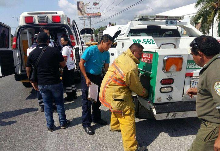 Los hechos ocurrieron en la carretera Cancún-Puerto Morelos. (Redacción/SIPSE)