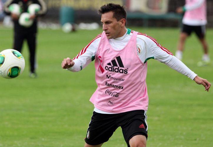 El futbolista argentino nacionalizado mexicano Christian 'Chaco' Giménez. (EFE)
