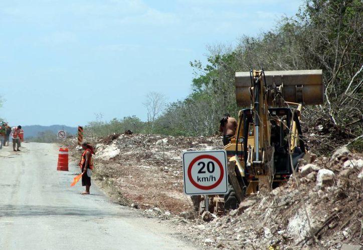 Los recursos federales se destinarán a obras de infraestructura básica, como carreteras. (Milenio Novedades)