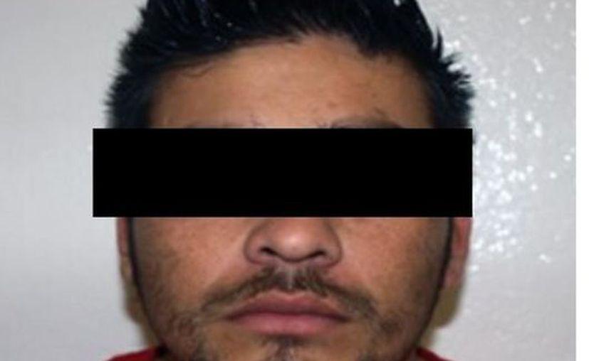 Los tres integrantes de la organización criminal  fueron detenidos por posesión de armas y secuestro. (Foto: Reforma)