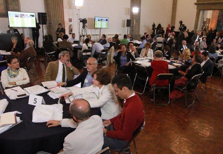 El secretario de Educación Pública, Aurelio Nuño Mayer, encabezó el Foro de Consulta sobre el Modelo Educativo, con académicos y especialistas en política educativa. (Notimex)