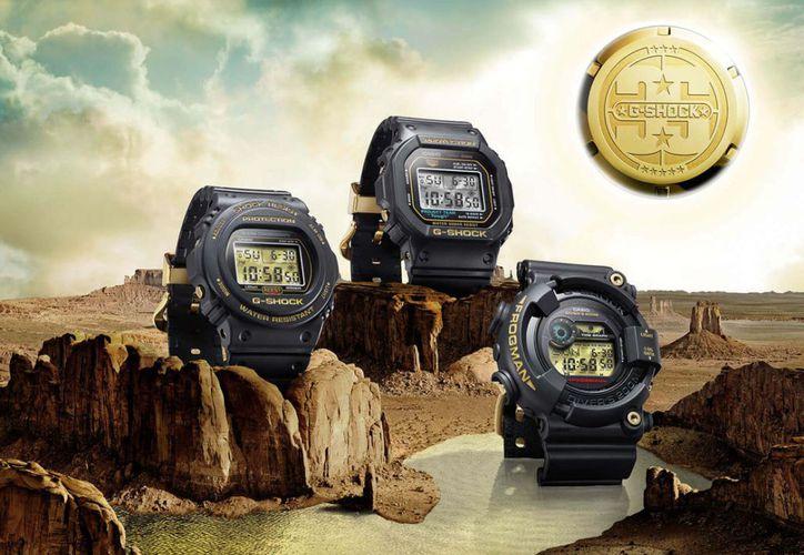 La nueva colección del G-Shock estará disponible en México a partir de mayo. (Foto: Web Adictos).