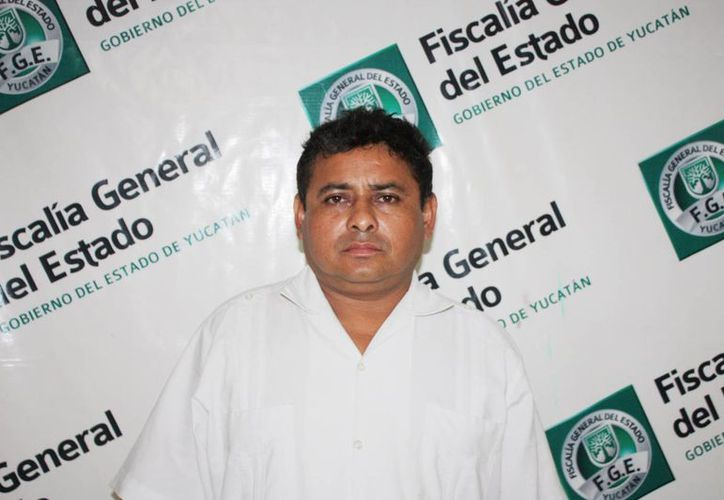 Mario Jesús Miranda Berzunza, acusado del robo de la laptop en la UADY. (FGE)