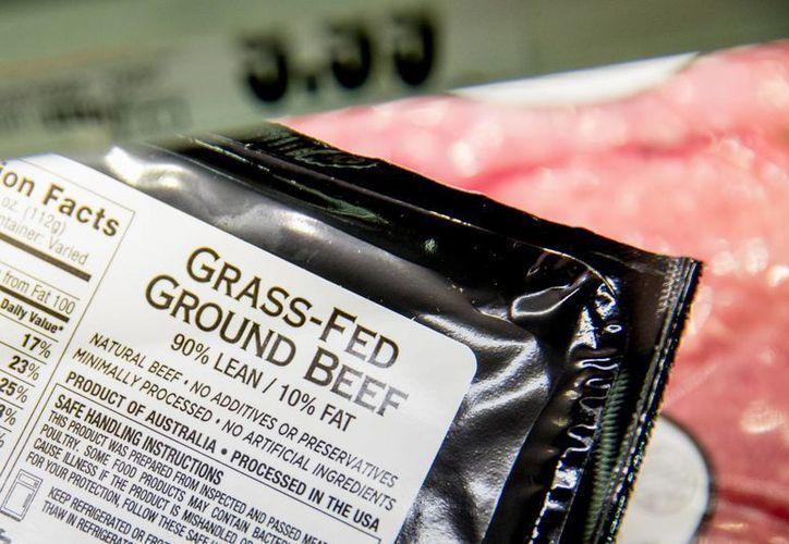 México y Canadá habían pedido a Estados Unidos derogar las normas de etiquetado que obligaban a los productores a indicar dónde nació, creció y se sacrificó al ganado. (AP)