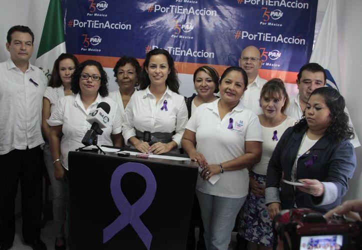 La dirigencia municipal del partido afirmó que las concesionarias incumplen con varias medidas que estipula la ley. (Tomás Álvarez/SIPSE)