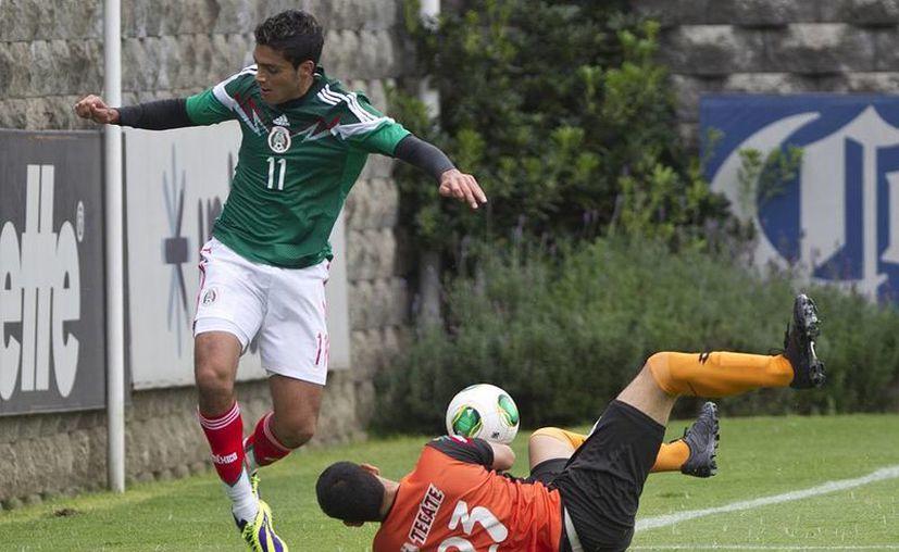 La Selección Mexicana derrotó 4-0 al equipo Altamira del Ascenso MX. (Agencias)