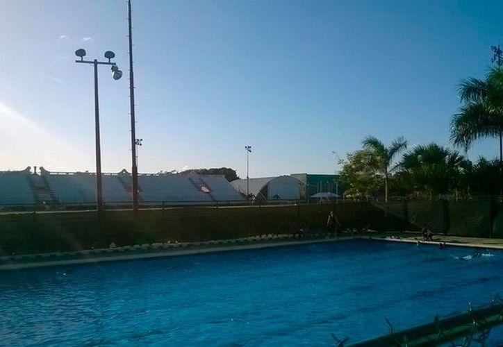 Las autoridades destinarán 50 mdp para varias obras deportivas. En la imagen, utilizada solo como contexto, la alberca del estadio Salvador Alvarado. (Milenio Novedades)