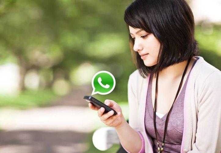 Si quieres compartir dónde te encuentras puedes hacerlo a través de WhatsApp. (Contexto/Internet)