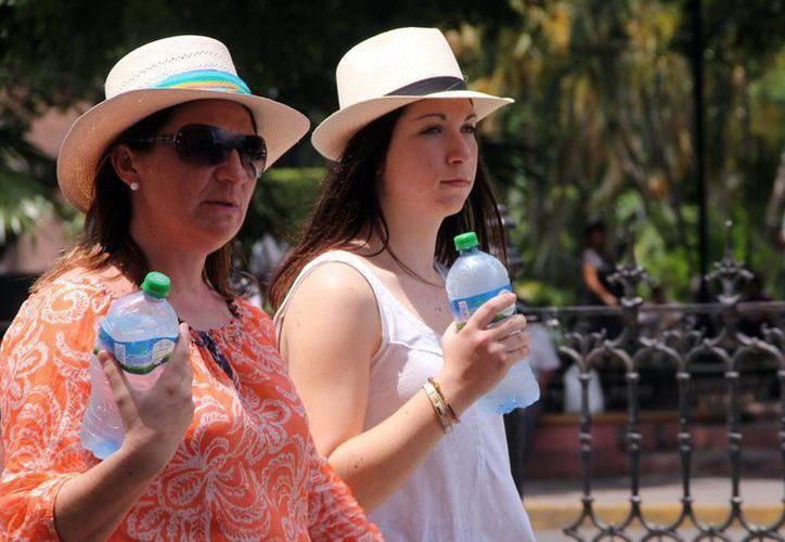 De acuerdo con los pronósticos, para hoy se pronostican temperaturas máximas de 35 grados Celsius en Yucatán. (SIPSE)