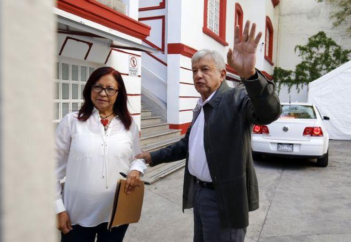 López Obrador dijo que todo ese plan se realizará con recursos públicos. (Notimex)