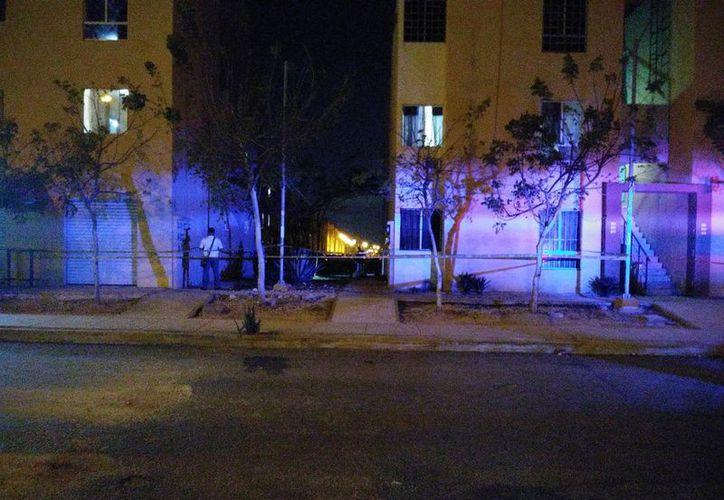 Los hechos ocurrieron en la manzana 105, calle República Dominicana en Paseos del Mar, atrás de Farmacias Yza. (SIPSE)
