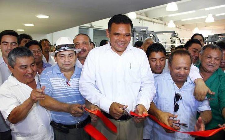 El gobernador Rolando Zapata asistirá a la inauguración del edificio del Centro de Investigación en Matemáticas Unidad Mérida. (Archivo/ Milenio Novedades)
